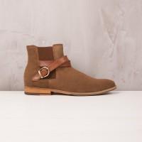 Boots À Élastique : Le Mélomane - Brun Havane