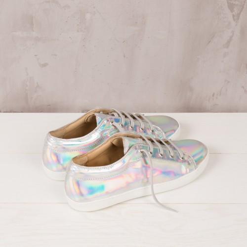 Sneakers : La Délirante - Mirage Argenté