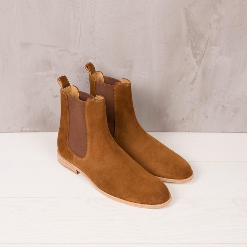 Chelsea Boots : Le Romanesque - Brun Camel