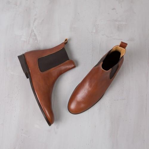 Chelsea Boots : Le Romanesque - Cognac