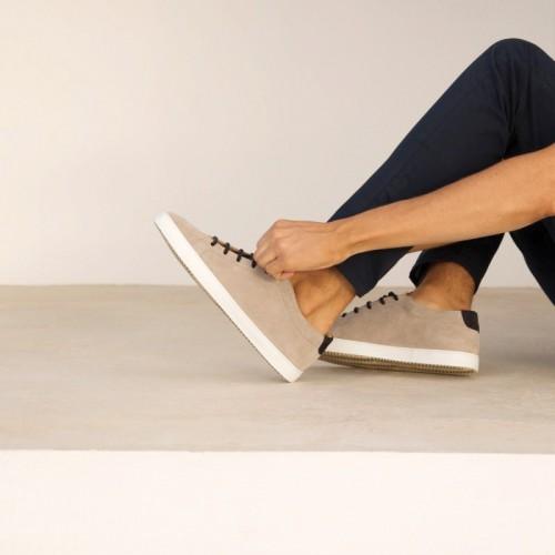 Sneakers : Le Baratineur - Gris Nuage