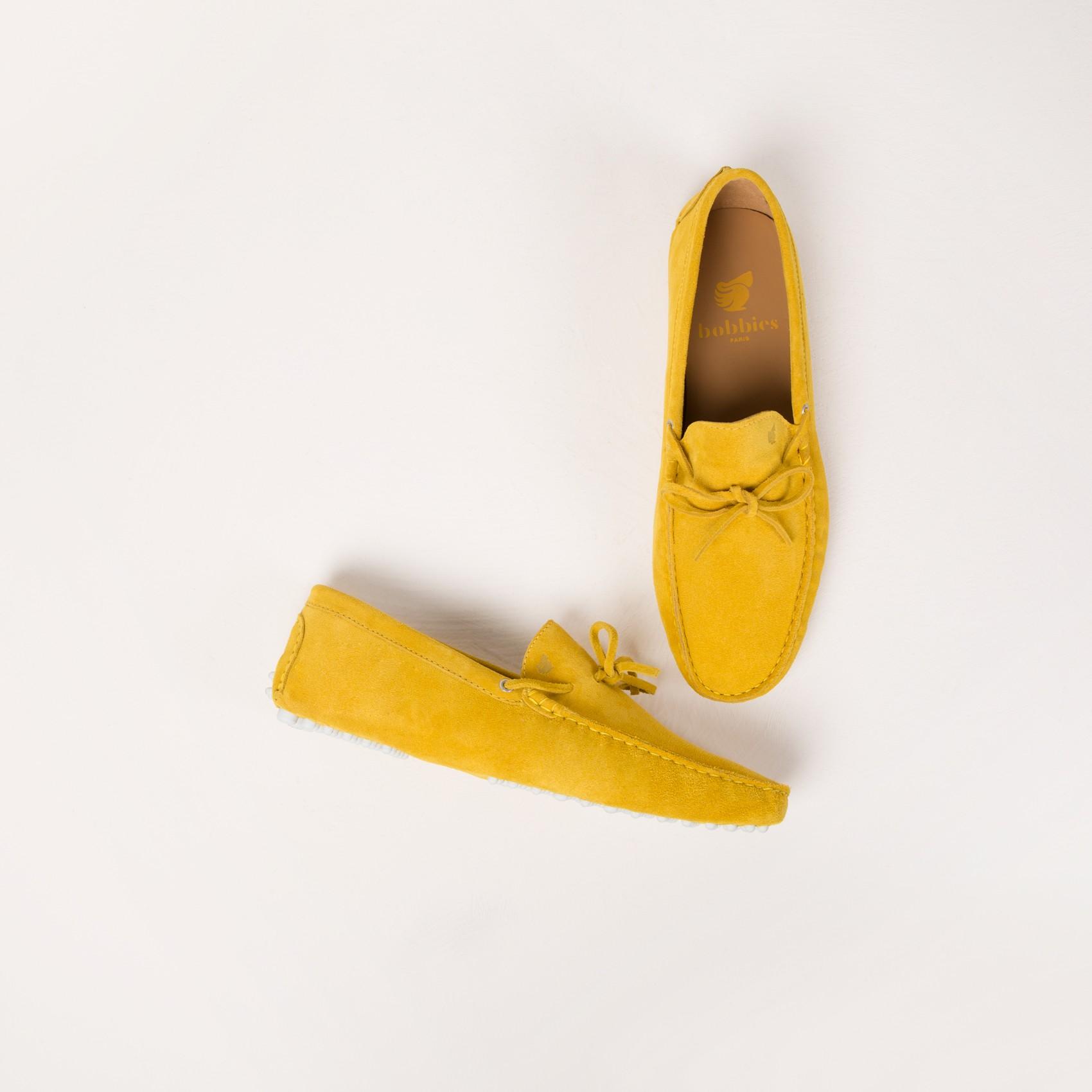 nouveaux styles 4b400 5869a mocassin homme jaune