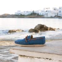 Mocassins : Le Vacancier - Denim Bleu