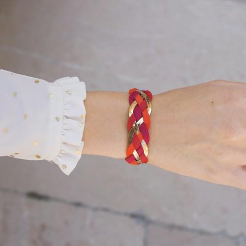 Bracelet : Bracelet Divin - Nuances de Rouge