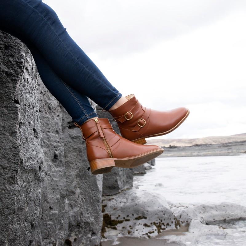 Boots Plates : La Révoltée - Cognac (F)