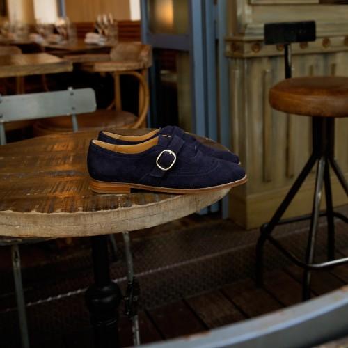 Derbies & Richelieu : La Jazzy - Bleu Marine
