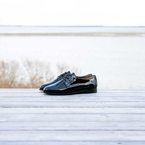 Derbies & Oxford Shoes : La Crâneuse - Black
